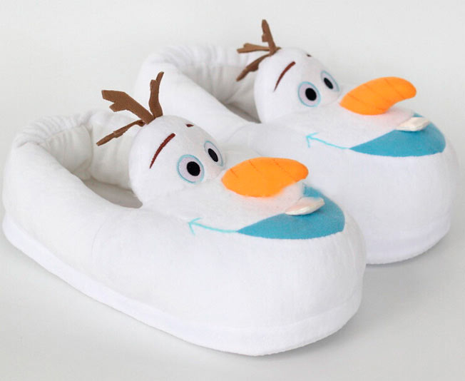 Zapatillas Olaf. Frozen: El Reino del Hielo